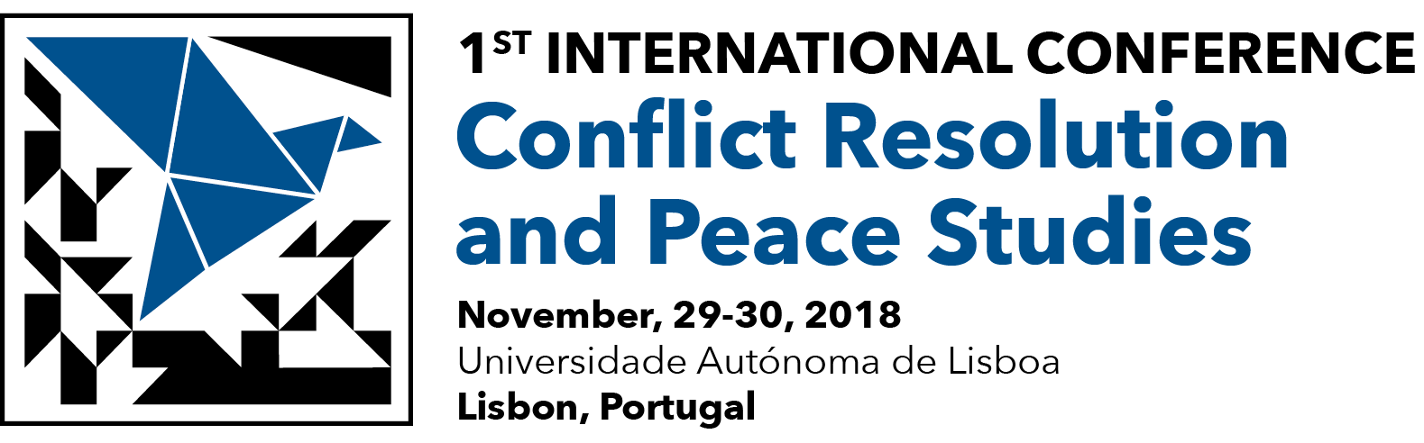 1ST INTERNATIONAL CONFERENCE – CONFLICT RESOLUTION AND PEACE STUDIES