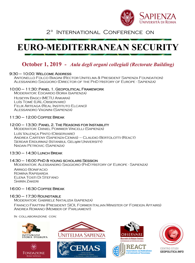 EURO MEDITERRANEAN SECURITY